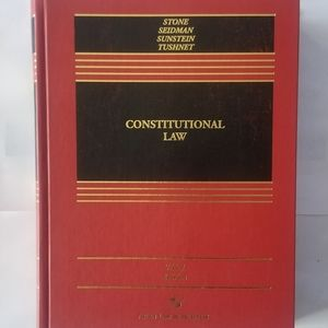 Vintage Book-Constitutional Law